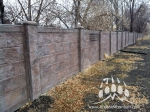 RhinoRock Concrete Fence Kodiak Mountain Stone 001
