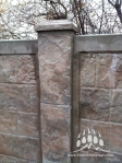 RhinoRock Concrete Fence Kodiak Mountain Stone 003