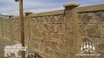 RhinoRock Light Weight Concrete Fencing Kodiak Mountain Stone 004